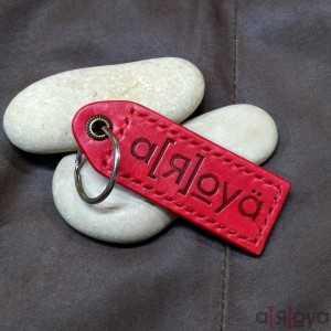 Porte-Clés Etiquette Key