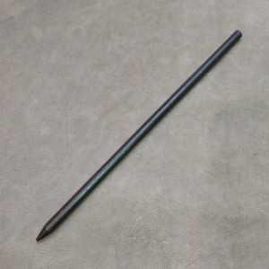 Pic à cheveux en bois - 18 cm - Simple pic droit en bois épaisseur 6 mm