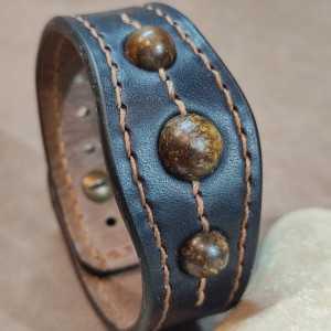 Bracelet Tantal Bronzite -...