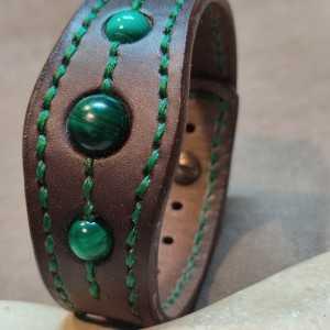 Bracelet Tantal Malachite - After 8 Version