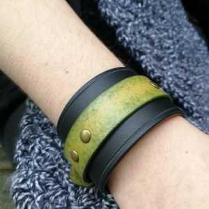 Bracelet de force 45mm Vert...