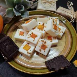 Orange Chocolat - Fondant Cire de Soja - Parfumé 15% Parfum de Grasse